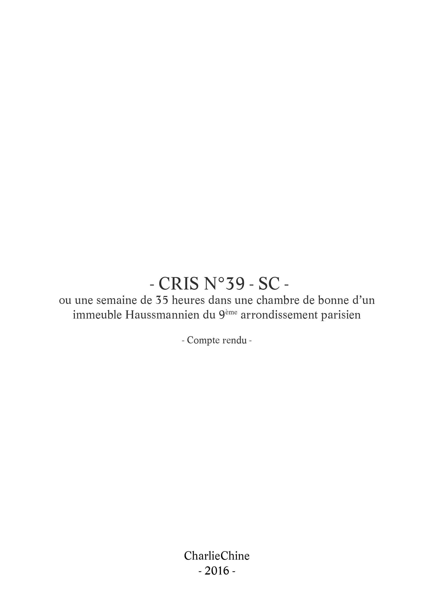 2016_Cri_n°39-SC_Rapport©CharlieChine